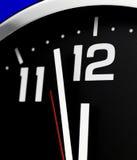 Clock vänder mot Arkivbilder