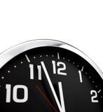 Clock vänder mot Arkivfoton