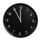 Clock vänder mot Royaltyfri Bild