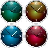 Clock variation stock images
