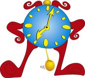 Clock vector Royalty Free Stock Photo
