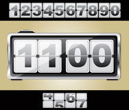 Clock vector Royalty Free Stock Photo