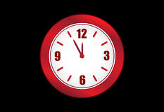 Clock Vector Royalty Free Stock Photos