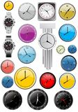 Clock Vector Royalty Free Stock Photography