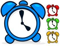 Clock Vector. Cartoon Vector Clocks - Vector icons Royalty Free Stock Photo