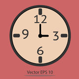 Clock Vector. Vector EPS of Clock Vector Royalty Free Stock Images