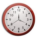 Clock, vector eps10 illustration Stock Photos