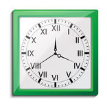Clock, vector eps10 illustration Stock Images