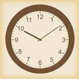 Clock vector icon Stock Images
