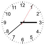 Clock vector icon Royalty Free Stock Photos