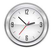 Clock vector illustration Stock Photography