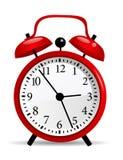 Clock vector illustration Stock Photography