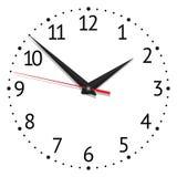 Clock vector Royalty Free Stock Photos