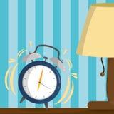 Wake up design. Clock of wake up morning awake and routine theme Vector illustration Royalty Free Stock Photo