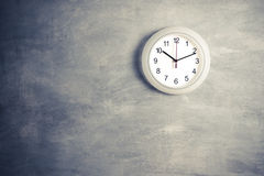 Clock on the wall Royalty Free Stock Image