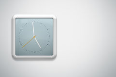 Clock at the wall Royalty Free Stock Images