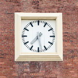 Clock on a wall Stock Photo