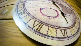 The clock on the wall. Timelapse stock video footage