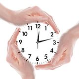 Clock or watch Royalty Free Stock Photos