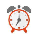 Clock watch alarm vector icon illustration Royalty Free Stock Photography