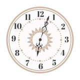 Clock watch alarms vector icons illustration Stock Image