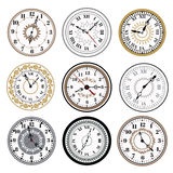 Clock watch alarms vector icons illustration Stock Photo