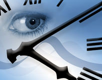 Clock watching Stock Images