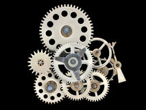 Clock works. Stock Photography