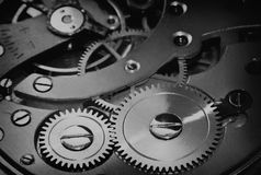 Clock works Stock Photography