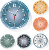 clock1 ilustracja wektor