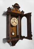 clock2 ściana zdjęcie stock
