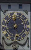 Clockface,伯尔尼 图库摄影