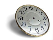 Clockface antique image stock