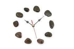 Clockface de piedra Fotos de archivo libres de regalías