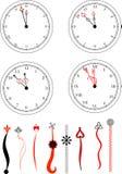Clockface do vetor ilustração stock