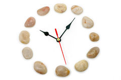 Clockface en pierre photographie stock