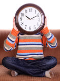 Clockhead foto de stock royalty free