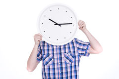 Clockman Royalty Free Stock Photo
