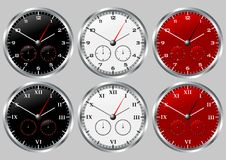 Clocks_02 Royalty Free Stock Photography