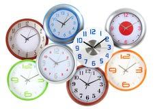 Clocks. Stock Images