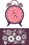 Clock and Gears royalty free illustration