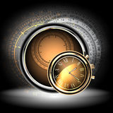 Clocks background Royalty Free Stock Photos