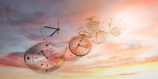 Time flies stock photos