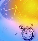 Clocks and calendars Royalty Free Stock Photos