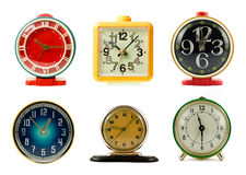 Clocks collection Royalty Free Stock Photo