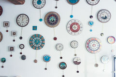 Clocks collection Stock Images