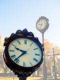 clocks gatan Royaltyfri Bild