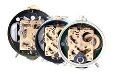 Clocks isolated Royalty Free Stock Photo