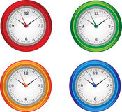 Clocks isolated Royalty Free Stock Image