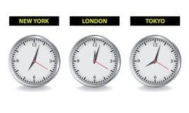 clocks loen som är ny till Royaltyfri Fotografi